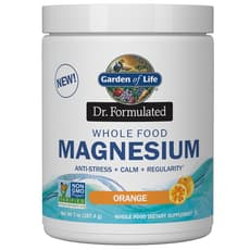 Garden of Life Dr. Formulated Whole Food Magnesium Powder Orange 197.4 g