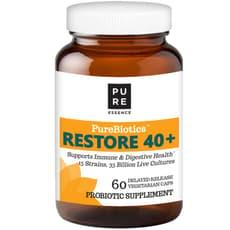 Pure Essence PureBiotics Restore 40+ 60 Veg Capsules