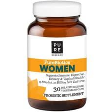 Pure Essence ピュアバイオティックス 女性用 30 ベジカプセル