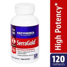 Enzymedica セラゴールド 120 カプセル