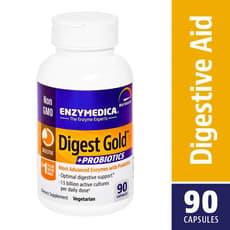 Enzymedica ダイジェストゴールド+プロバイオティック 90カプセル