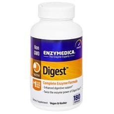 Enzymedica ダイジェスト 180カプセル