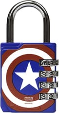 Performa Premium Combination Gym Lock Captain America 1 Count