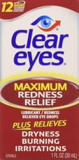 Clear Eyes Maximum Redness Relief Eye Drops 1 fl oz