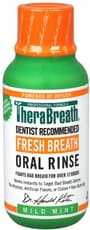 TheraBreath フレッシュブレスウォッシュリンス、マイルドミントフレーバー、3 fl oz