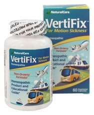 Natural Care VertiFix For Motion Sickness 60 Veg Capsules