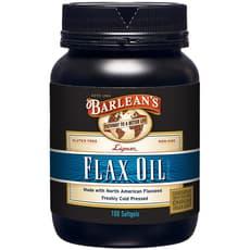 Barlean's Flax Oil Lignan 1,000 mg 100 Softgels