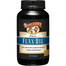 Barlean's Lignan Flax Oil 250 Softgels