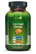 Irwin Naturals 3-in-1 ジョイント フォーミュラ 90ソフトジェル