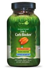 Irwin Naturals  3-1-炭水化物ブロッカーマキシマムストレングス 75 ソフトジェル