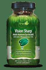 Irwin Naturals ビジョンシャープ マルチ栄養アイヘルス 42ソフトジェル
