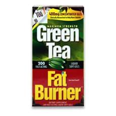 Applied Nutrition 緑茶 ファットバーナー 400mg 200ソフトジェル