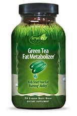 Irwin Naturals Green Tea Fat Metabolizer(緑茶の脂肪代謝剤) 150ソフトジェル