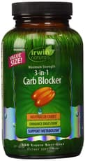 Irwin Naturals 3-in-1 Carb BlockerR(3イン1 炭水化物ブロッカー) 150ソフトジェル