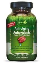 Irwin Naturals アンチエイジング抗酸化物質 60ソフトジェル