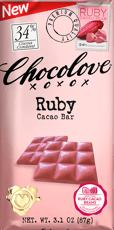 CHOCOLOVE ルビーカカオバー 87 g