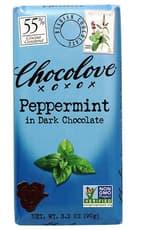 CHOCOLOVE ペパーミント イン ダークチョコレート 90 g