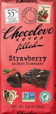 CHOCOLOVE ストロベリー イン ダークチョコレート 90 g