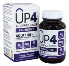 UP4 Probiotics Adult 50+ 60 Veg Capsules