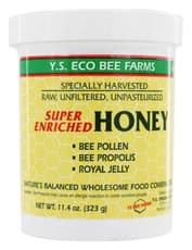 Y.S Eco Bee Farms Honey Super Enriched 11.4 oz
