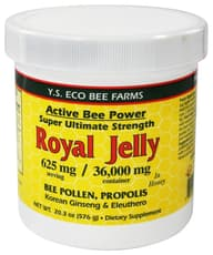 Y.S. Eco Bee Farms Royal Jelly 625 mg 20.3 oz