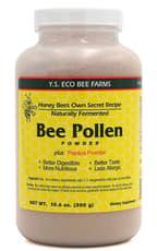 Y.S. Eco Bee Farms Bee Pollen Powder Plus Papaya Powder 10.6 oz