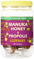 Y.S. Eco Bee Farms Manuka Honey Propolis 20 Lozenges 3.2 oz