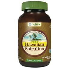Nutrex Hawaii ピュアハワイアンスピルリナパシフィカ1000 mg 180タブレット