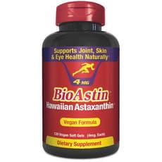 Nutrex Hawaii バイオアスチン、ハワイアンアスタキサンチン4 mg 120ベジソフトジェル