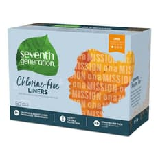 Seventh Generation 生理用ナプキン ライナー 50個入り