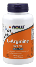 Now Foods L-アルギニン 500 mg 100カプセル