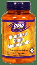 Now Foods BCAA(ブランチドチェーンアミノ酸) 120カプセル
