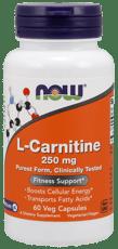 Now Foods L-カルニチン 250 mg 60カプセル