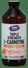 Now Foods 液状L-カルニチントリプルストレングス  シトラス味 3,000 mg 473ml