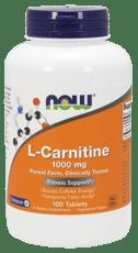 Now Foods L-カルニチン 1,000 mg 100錠