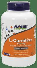 Now Foods L-カルニチン 500 mg 180ベジカプセル