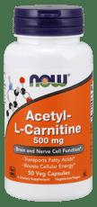 Now Foods アセチル- Lカルニチン 500 mg 50ベジカプセル