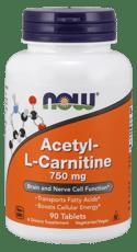Now Foods アセチル L-カルニチン 750 mg 90錠