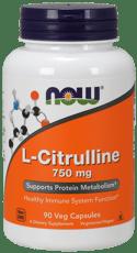 Now Foods L-シトルリン 750 mg 90 ベジカプセル