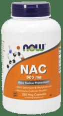 Now Foods NAC 600 mg 250ベジカプセル