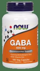 Now Foods ガバ 500 mg 100カプセル