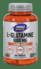 Now Foods L-グルタミン ダブルストレングス 1,000 mg 120カプセル