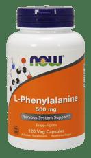 Now Foods L-フェニルアラニン 500 mg 120ベジカプセル
