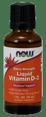 Now Foods 液体ビタミンD-3 超強力 1,000 IU 30 ml