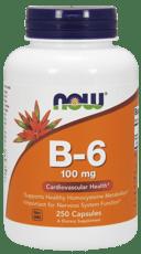 Now Foods B-6 100 mg 250 カプセル