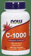 Now Foods ビタミンC-1000(バイオフラボノイド100mg含有) 100ベジカプセル