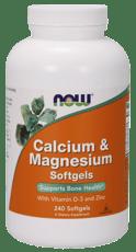 Now Foods カルシウム & マグネシウム 240 ソフトジェル