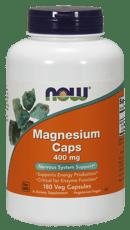 Now Foods マグネシウムカプセル 400 mg 180 ベジカプセル