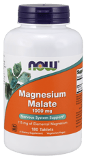 Now Foods リンゴ酸マグネシウム 1,000 mg 180錠