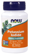 Now Foods ヨウ化カリウム 30 mg 60錠